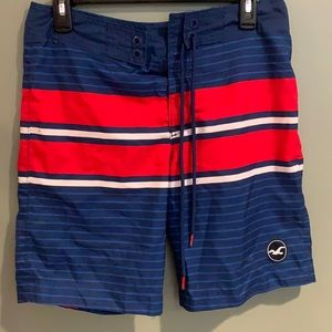 Hollister board shorts bathing suit swimwear